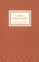 Goethe, Johann Wolfgang von Römische Elegien