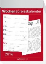 Wochenabrei?kalender 2016