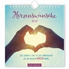 Herzenswünsche 2017. Postkartenkalender