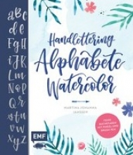 Janssen, Martina Johanna Handlettering Alphabete Watercolor