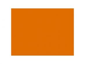 , tekenpapier Folia 50x70cm 130gr pak a 25 vel oranje