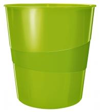 , Papierbak Leitz WOW 15liter groen