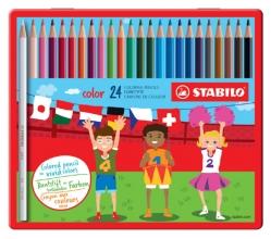 , Kleurpotloden STABILO Color 979 blik à 24 kleuren