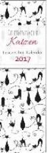 Geheimnisvolle Katzen - Lesezeichenkalender 2017