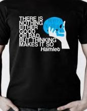 Hamlet T-shirt, Large