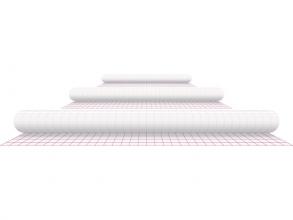 , Kaftplastic Boeklon 33cmx25m zelfklevend  transparant