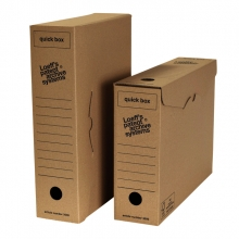 , Archiefdoos Loeff`s Quick Box 3000 A4 335x240x80