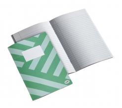 , Schrift Multo A5 80vel lijn groen