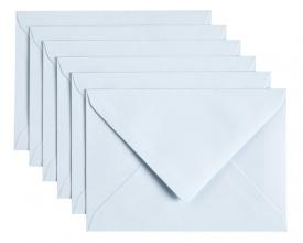 , Envelop Papicolor C6 114x162mm babyblauw