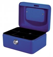 , Geldkist Pavo 150x115x80mm blauw