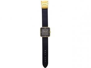 , Horloge NeXtime Square Wrist zwart/goud