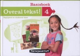 Hetty van den Berg, Overal tekst! Basisboek groep 4