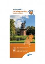 ANWB , Fietskaart Groningen oost 1:66.666