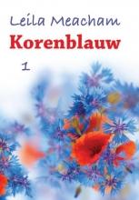 Leila  Meacham Korenblauw - grote letter uitgave