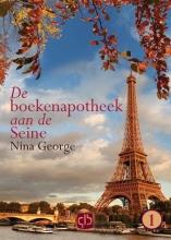 Nina  George De boekenapotheek aan de Seine - grote letter uitgave