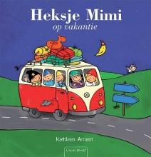 Kathleen  Amant Heksje Mimi op vakantie