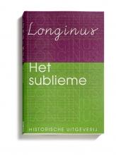 Longinus, Michiel op de Coul, C.J.M.  Sicking Het sublieme