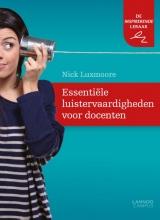 Nick  Luxmoore Essentiële luistervaardigheden voor docenten