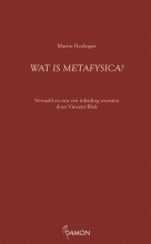 Martin Heidegger , Wat is metafysica?