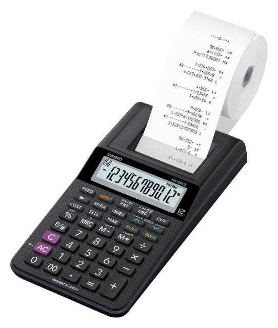 ,Rekenmachine Casio HR-8RCE