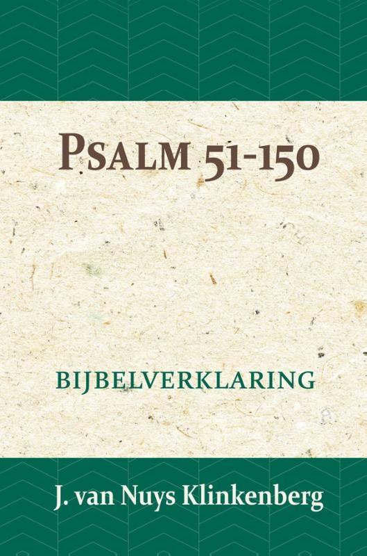 J. van Nuys Klinkenberg,Psalmen 51-150