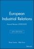 Towers, Brian,European Industrial Relations
