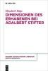 Häge, Elisabeth,Dimensionen des Erhabenen bei Adalbert Stifter