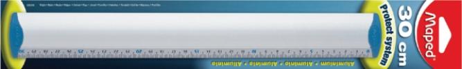 ,Liniaal Maped 120040 aluminium 300mm