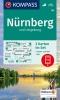 ,Kompass WK163 Nürnberg und Umgebung