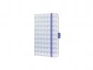 ,Notitieboek Sigel Jolie Beauty A6 hardcover gelinieerd      `Boho lavender`