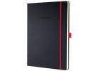 ,notitieboek Sigel Conceptum RED Edition hardcover A4 zwart  lijn
