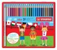 ,<b>Kleurpotloden STABILO Color 979 blik à 24 kleuren</b>