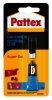 ,Secondelijm Pattex super gel tube 3gram op blister
