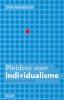 Dirk  Verhofstadt,Pleidooi voor individualisme