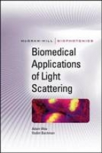 Wax, Adam Biomedical Applications of Light Scattering
