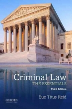 Reid, Sue Titus, Ph.D. Criminal Law