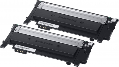 , Tonercartridge Samsung CLT-P404 zwart 2x