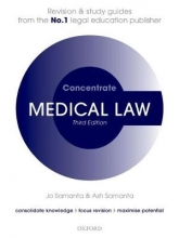 Samanta, Jo Medical Law Concentrate
