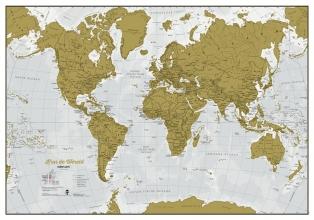 Scratch Wereldkaart - Nederlands
