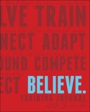 Lauren Fleshman,   Roisin McGettigan-Dumas Believe Training Journal Classic Red