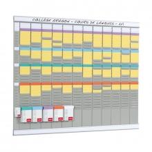 , Planbord Nobo jaar 12 panelen met 32 sleuven nr.2