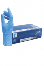 , Handschoen Euro nitril L blauw doos à 100 stuks