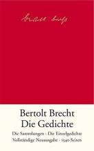 Brecht, Bertolt Die Gedichte