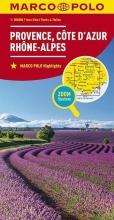 , Marco Polo Provence, Cote d`Azur, Rhone-Alpes 1:300.000