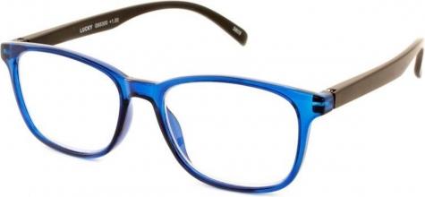 , Leesbril I Need You Lucky +3.00 dpt blauw-zwart