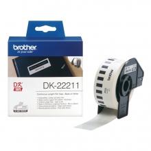 , Etiket Brother DK-22211 29mm 15-meter witte film