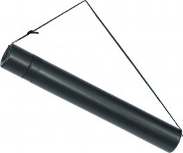 , Tekeningkoker linex zoom 74cm doorsnee 6cm zwart