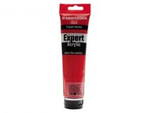 , Talens amsterdam expert acrylverf 150 ml cadmiumrood donker 306
