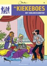 Merho De Kiekeboes Het edelweismotief 032