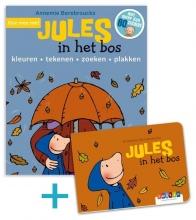 Annemie Berebrouckx , promobundel Doe mee met Jules in het bos + kartonboekje Jules in het bos